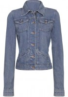 Fitted Denim Jacket for Women