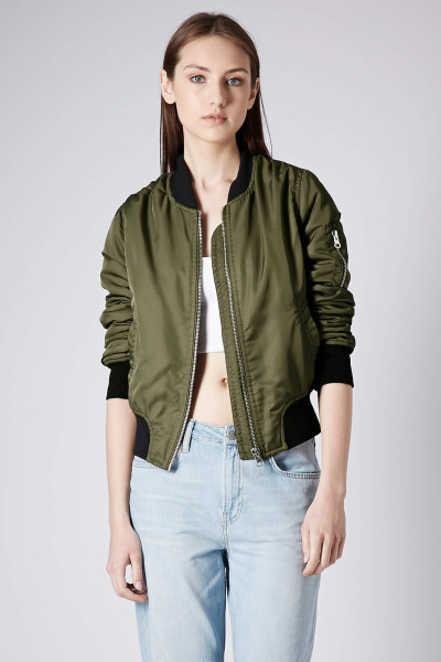 Ladies nylon bomber jacket – Novelties of modern fashion photo blog
