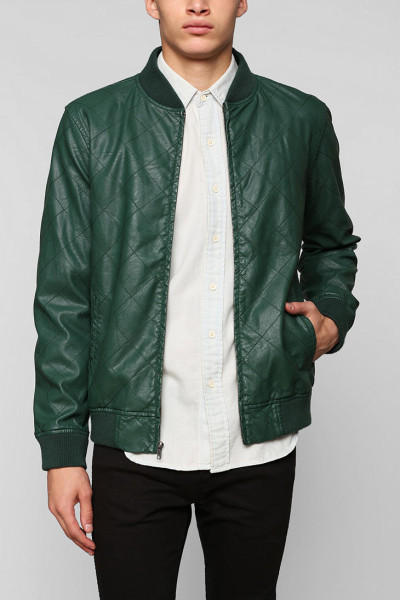 Green Leather Jackets Jackets