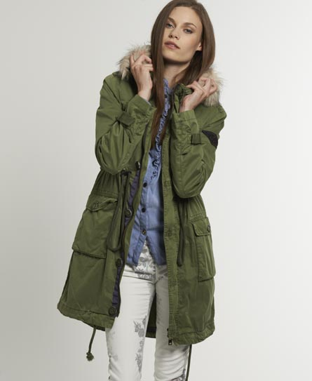 Collection Green Parka Jacket Women Pictures - Reikian