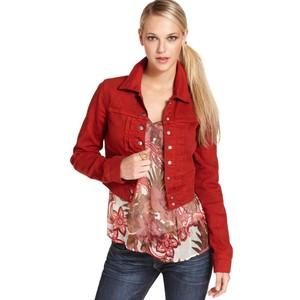 Red denim jacket womens – New Fashion Photo Blog