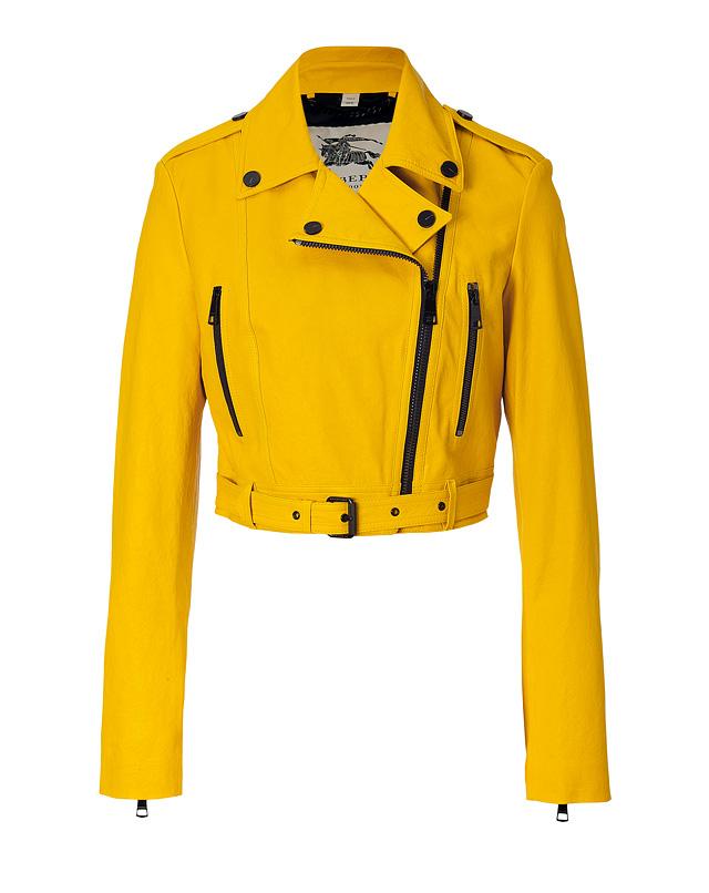 Yellow Leather Jackets – Jackets