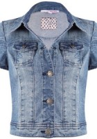 Jean Jacket Short Sleeve