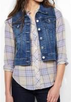Jean Jacket Vest for Women