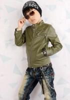 Leather Jacket Kid