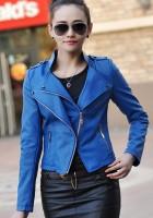 Leather Jackets Blue