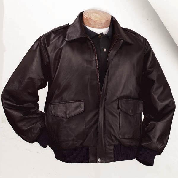 Leather Bomber Jacket – Jackets