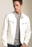 Leather Jackets White