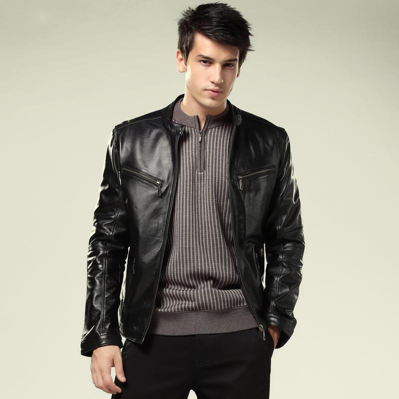 are men's leather jackets in fashion