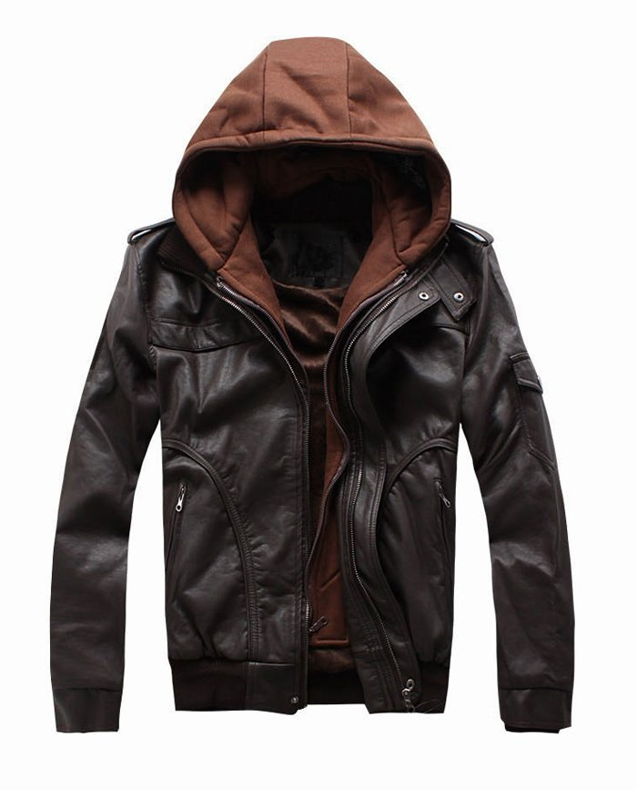 Jacket With Hood For Men 8MrsVc