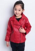 Leather Kids Jacket