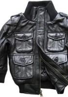 Leather Kids Jackets