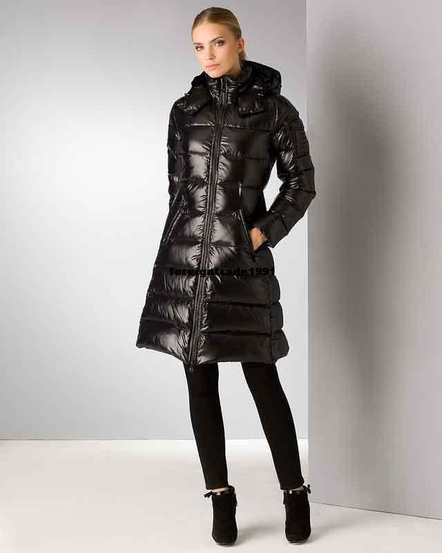 Long Black Parka Coat