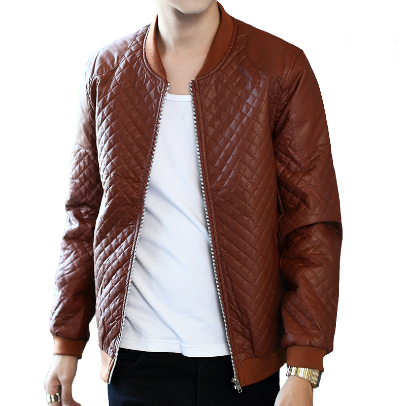 Quilted Leather Jackets – Jackets : leather quilted jacket men - Adamdwight.com