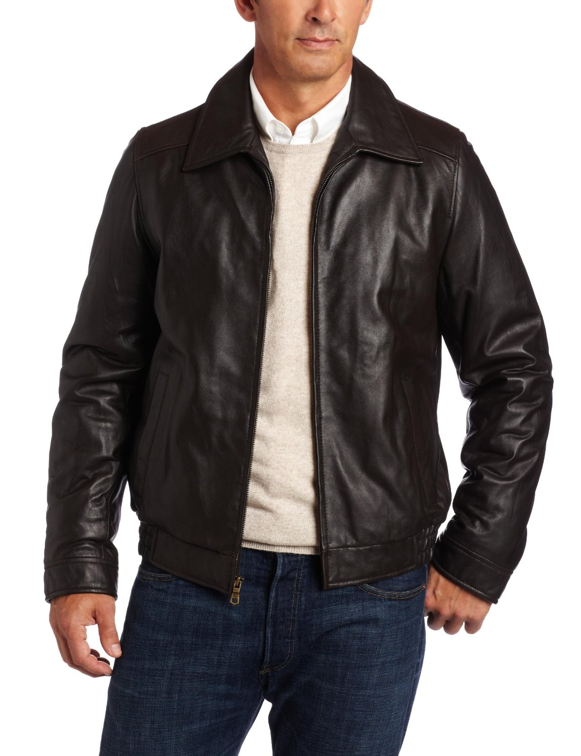 Leather Bomber Jacket – Jackets