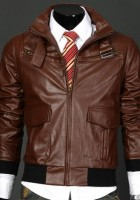 Mens Brown Leather Jackets