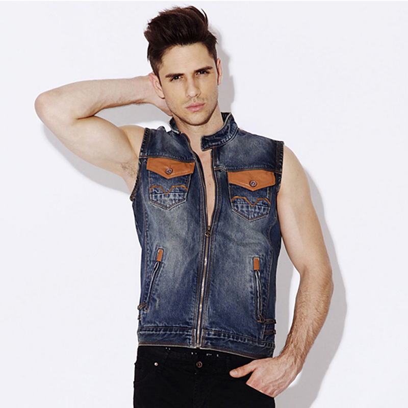 Find wholesale mens sleeveless denim jacket online from China mens sleeveless denim jacket wholesalers and dropshippers. DHgate helps you get high quality discount mens sleeveless denim jacket at bulk prices.