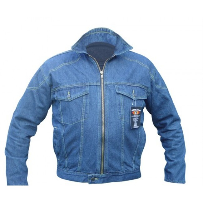 Motorcycle Denim Jacket