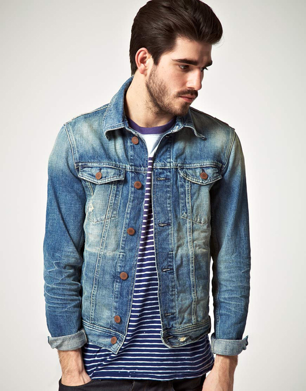 Oversized denim jacket kopen