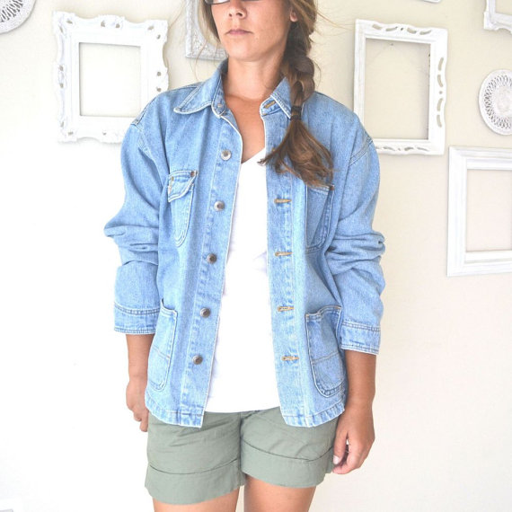 Oversized Denim Jackets – Jackets