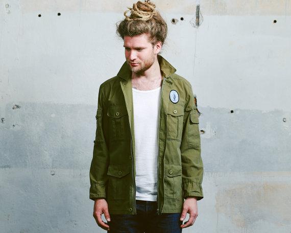 Parka Jacket Men Green - Green Parka Jackets – Jackets