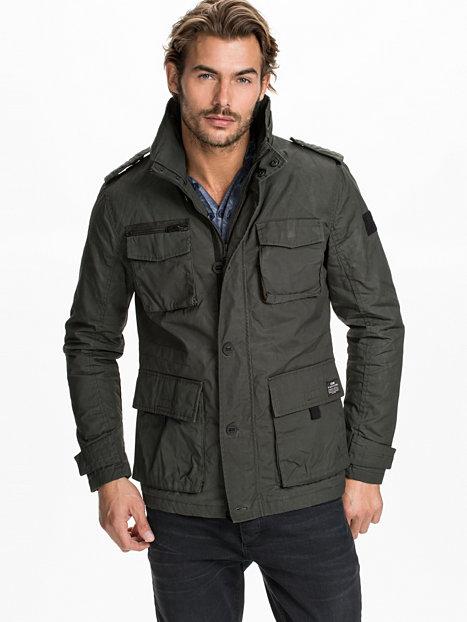 Parka Jacket Male | Fit Jacket
