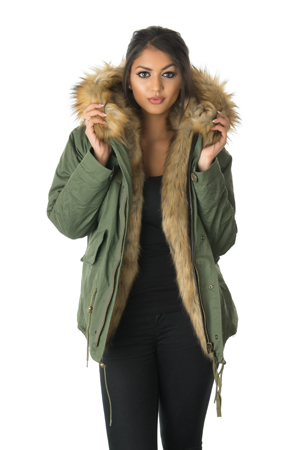 Fur Parka Jacket Womens | Outdoor Jacket