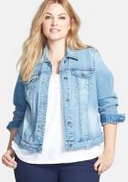 Plus Size Denim Jackets for Women