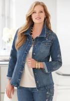Plus Size Jean Jackets for Women