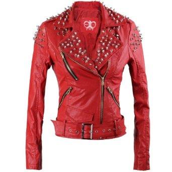 Punk Leather Jacket Jackets