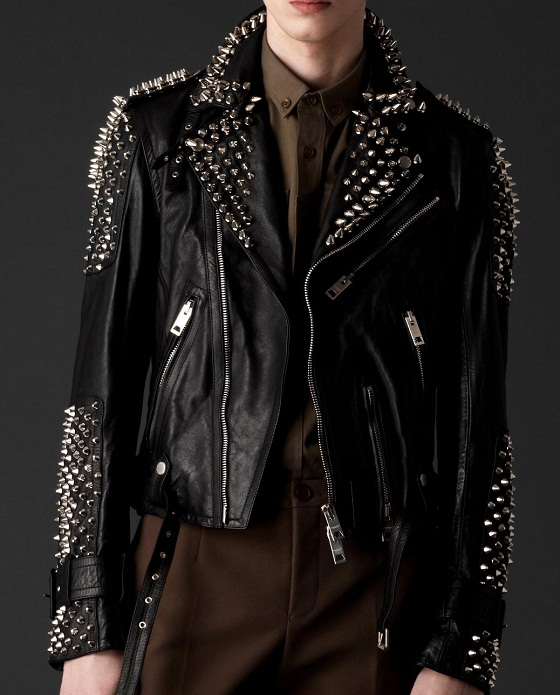 Punk Leather Jacket Jackets