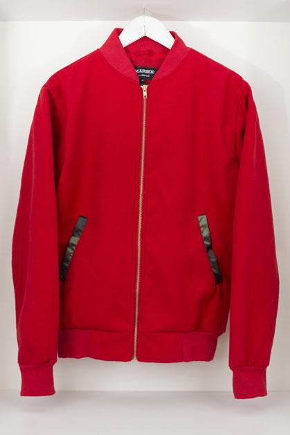 Womens Red Jean Jacket