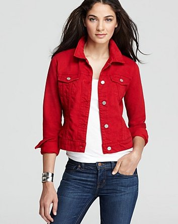 Shop our Collection of Women's Red Denim Jackets at onelainsex.ml for the Latest Designer Brands & Styles. FREE SHIPPING AVAILABLE!