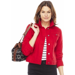Red Denim Jackets – Jackets