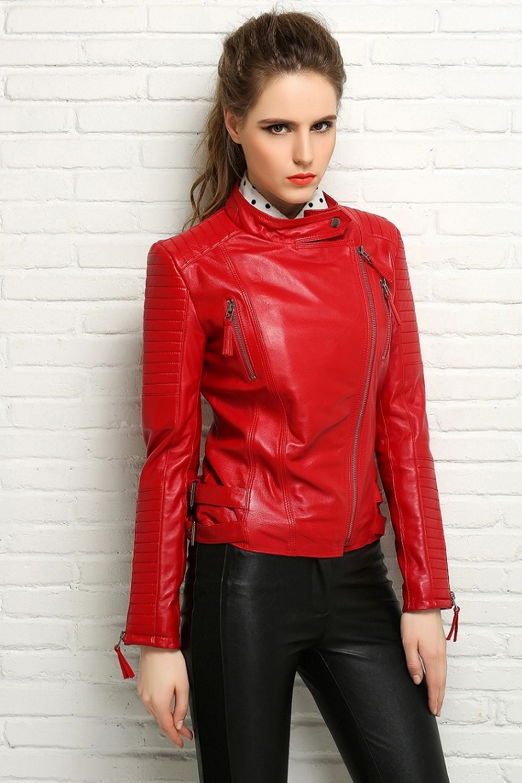 Red Leather Jackets – Jackets