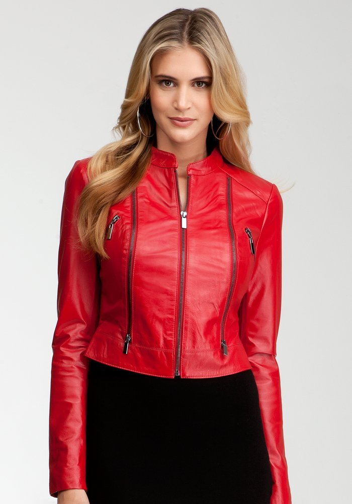 Red Leather Jacket | Gommap Blog