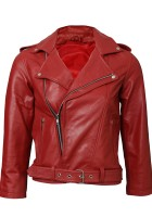 Red Motorcycle Jacket