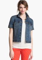 Short Sleeve Jean Jacket
