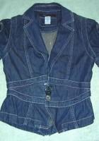 Short Sleeve Jean Jacket for Juniors