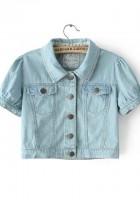Short Sleeve Jean Jackets for Women