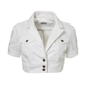 Short White Coats | Down Coat