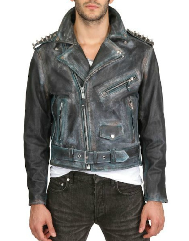 Studded leather jackets for men