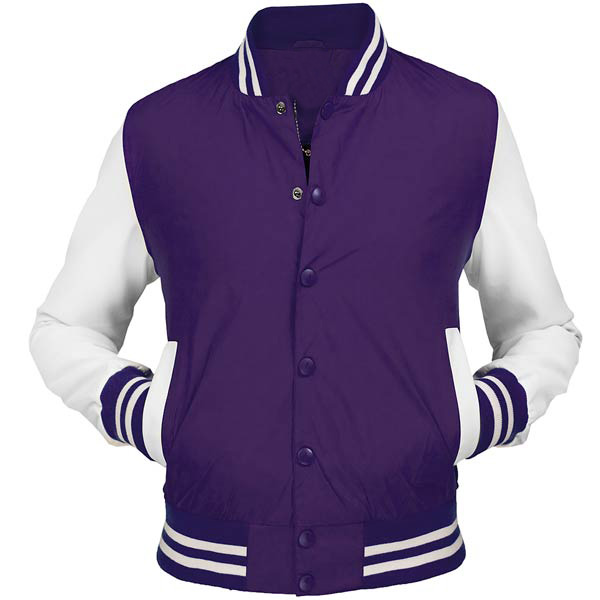 Varsity Jackets for Girls Purple