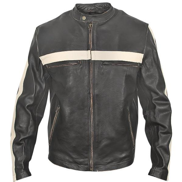 Mens vintage motorcycle jacket