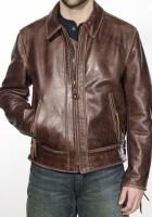 Vintage Style Motorcycle Jacket
