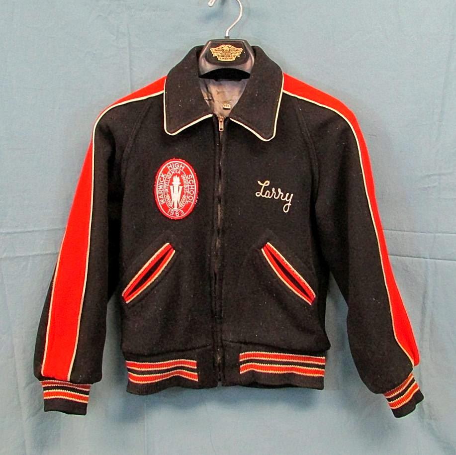 Letterman Jacket Vintage 87