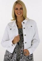 White Denim Jacket for Women