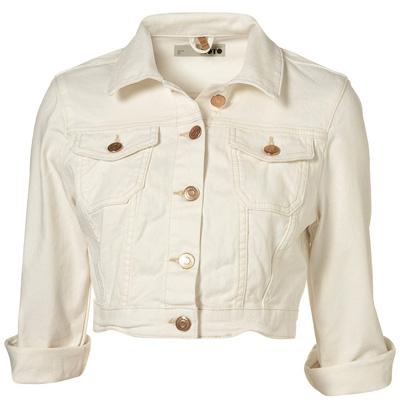 Ladies white denim jean jacket – Your jacket photo blog
