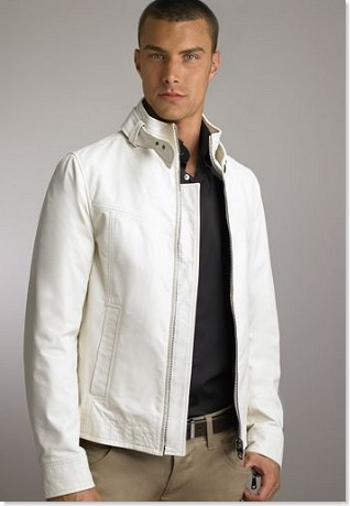 White Leather Jackets Jackets