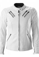 White Mens Leather Jacket